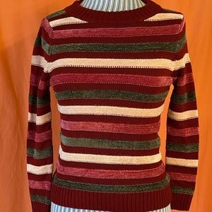 Modcloth Duly Noticed Chenille Sweater, Size M